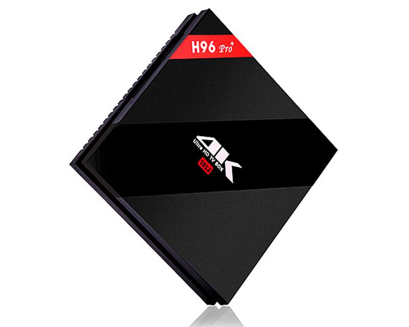 Андроид ТВ приставка H96 PRO+ (plus) Amlogic S912 3/32Gb